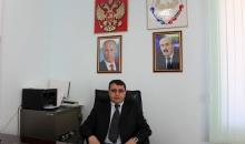 Глава МР «Цунтинский район»  Пахрудин Магомединов